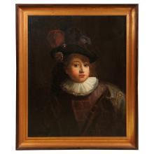 17th Century Dutch Portrait of a Young Boy
