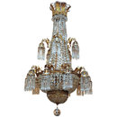 A French Empire Style Grand Salon Chandelier
