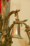 A Bronze Louis 16th Style single Sconce