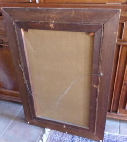 Antique French Oil Painting