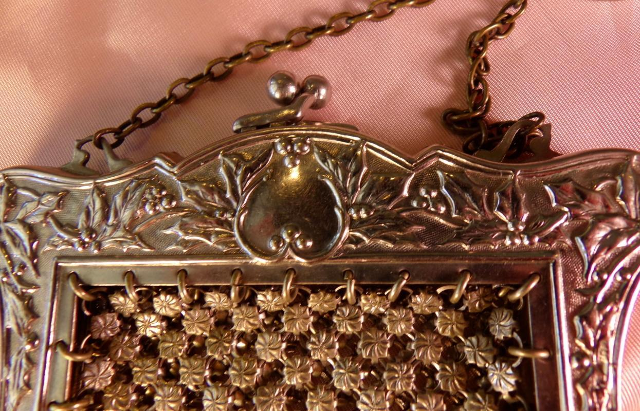 Sterling Silver Victorian Bag