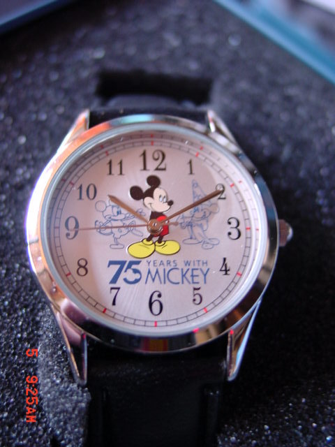 Disney 75th Anniversary Watch