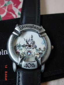 Disney, Valdawn, Disneyland 40th Anniversary Watch