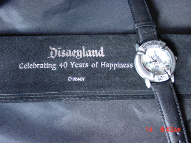 Disney, Valdawn, Disneyland 40th Anniversary Watch
