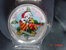 Disney, Ballanda, 2000, Limited Edition 101 Dalmations Christmas Watch