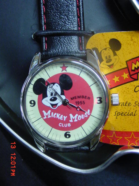 Disney Mickey Mouse Club Anniversary Watch