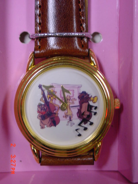 Disney, RARE - HTF!  Disney's Aristocats Limited Edition Watch!  MIB