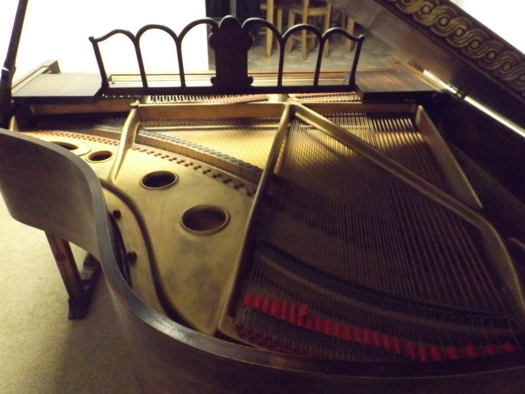1898 Brewster New York Baby Grand Piano