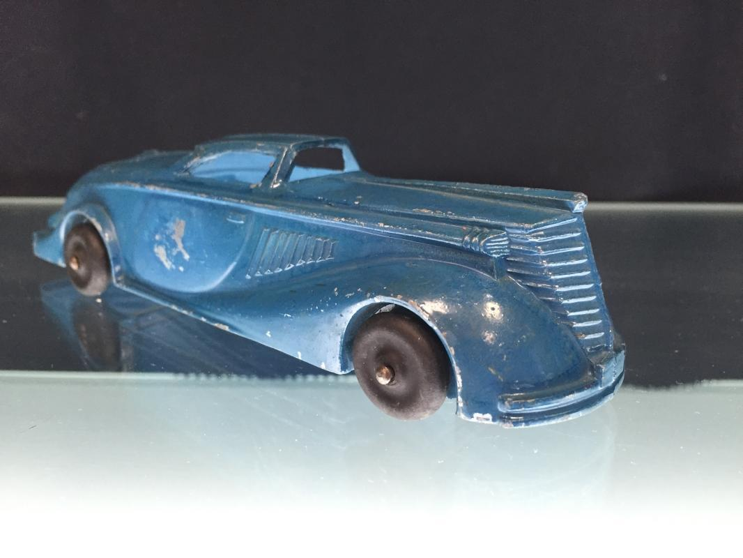 Manoil Blue Car