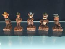 Walt Disney Mini Figurines