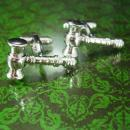 Vintage Gavel Cufflinks / Judge gift / Justice Accessory / Silver cuff links / attorney lawyer gift / Auctioneer gavel