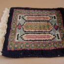 Vintage Miniature Carpet - Doll house persian rug - Arabian carpet - magic carpet - flying carpet - thick woven blue rug