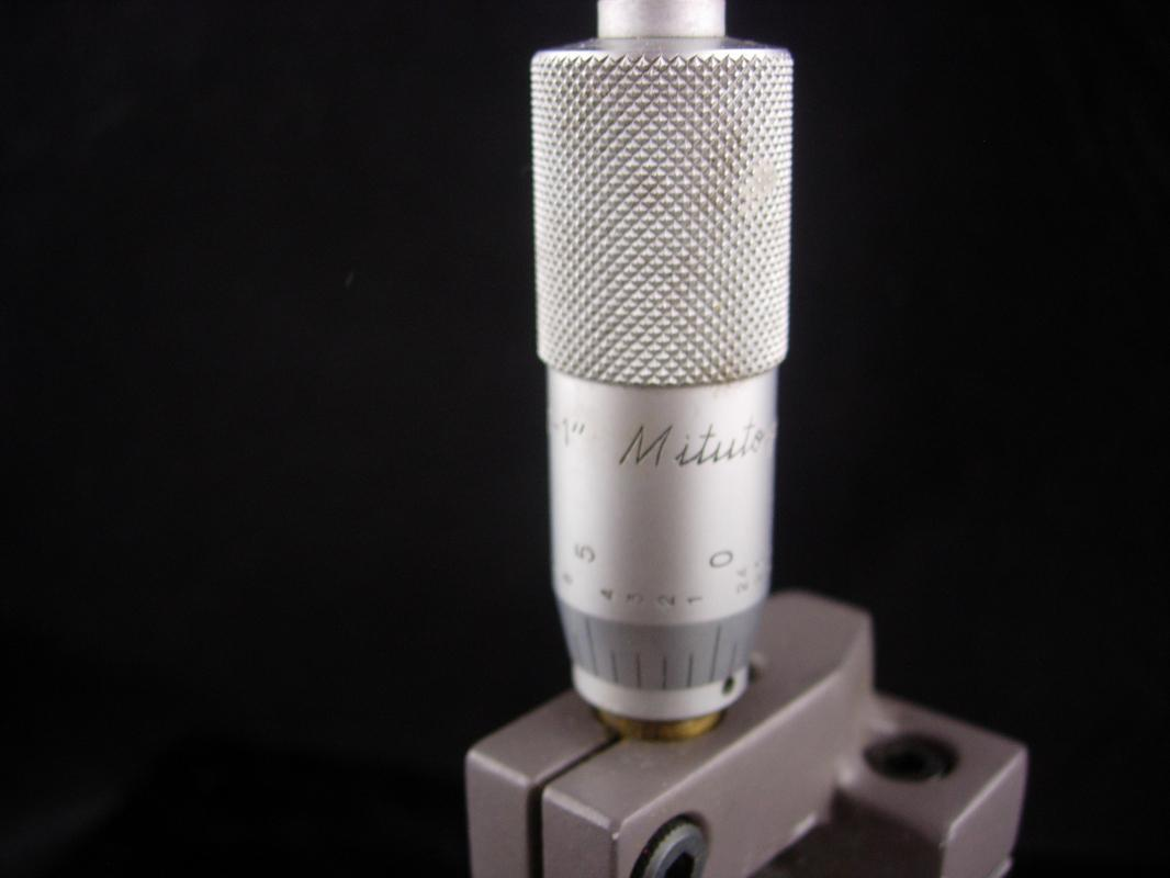 Rare Mitutoyo caliper / Vintage micrometer - Mens Industrial Tool - machinist gift - Carpenter handyman - mens cool gift