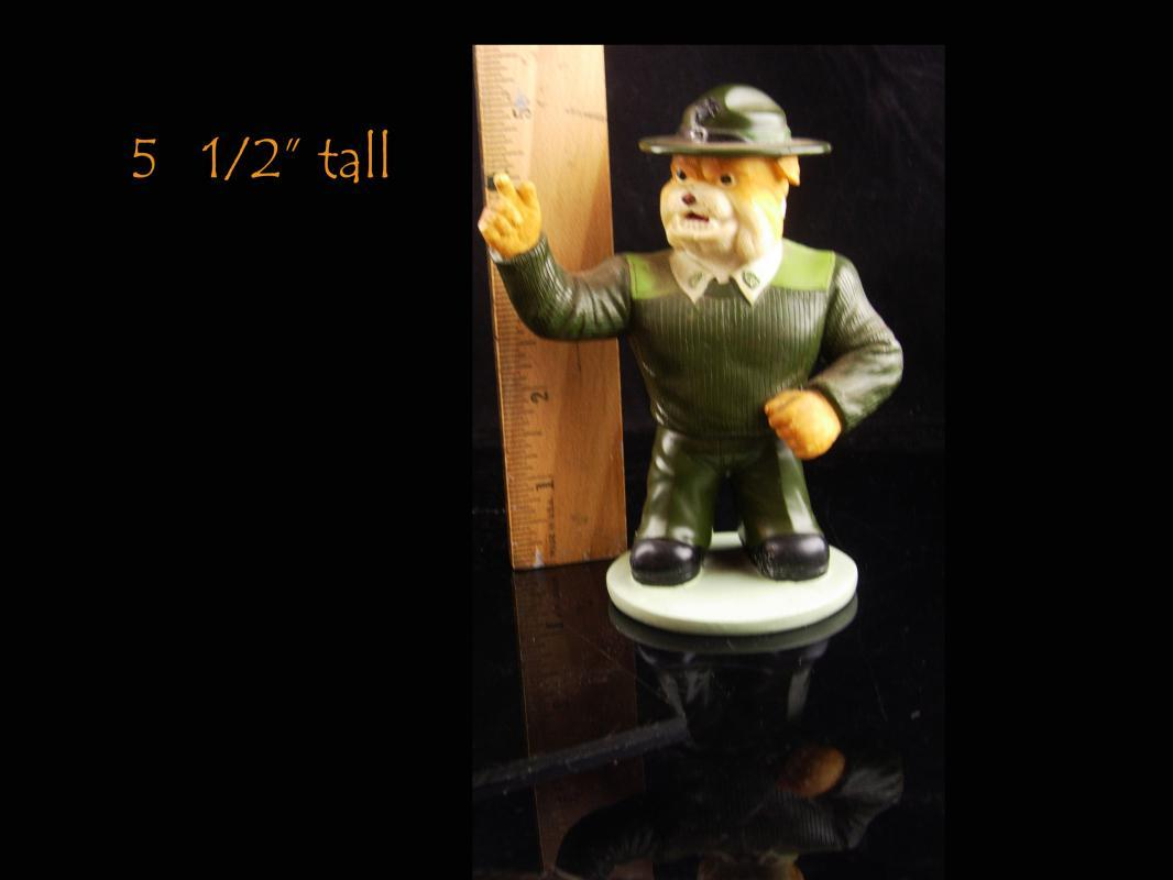 Vintage Marine bulldog figurine - Marine Drill instructor statue - limited edition - veteran marine gift - Fathers Day - gift for dad