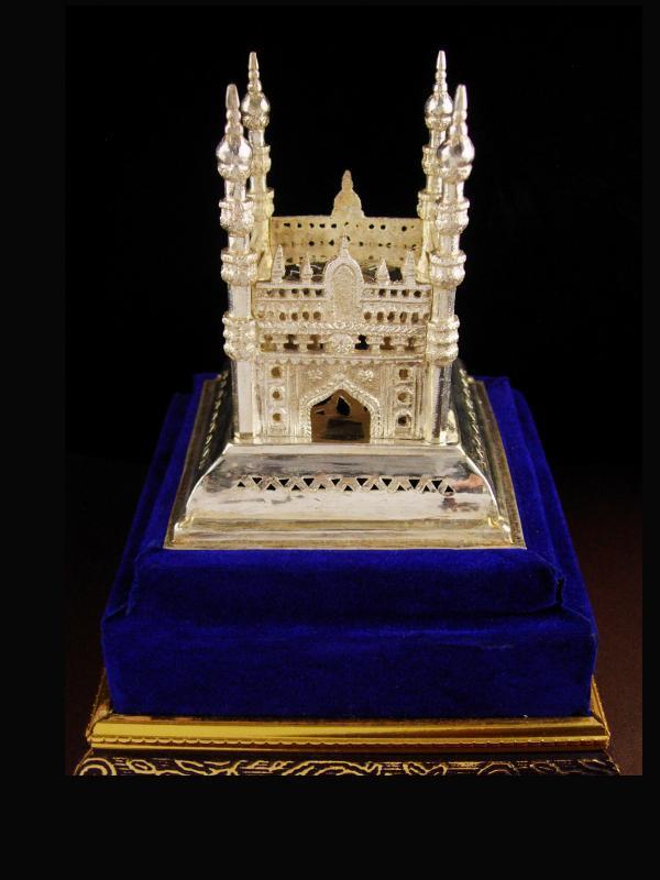 Taj Mahal - miniature silver palace - Persian wedding palace - Ottoman Empire - mausoleum architecture shrine
