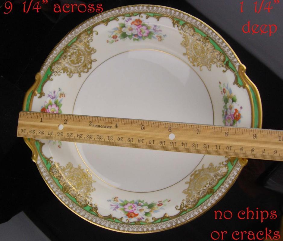 Vintage raised gold Bowl - Noritake SABINA 9
