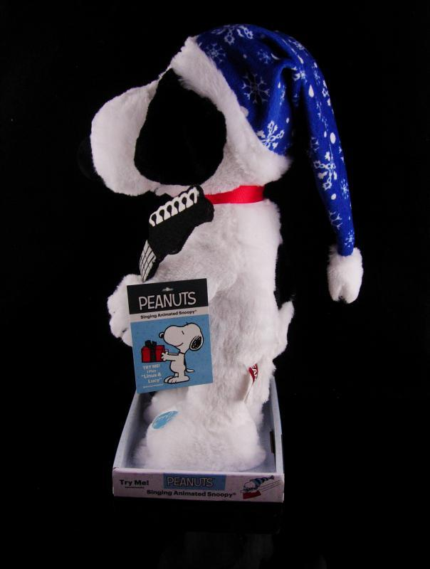 Vintage Animated Christmas Snoopy - 15