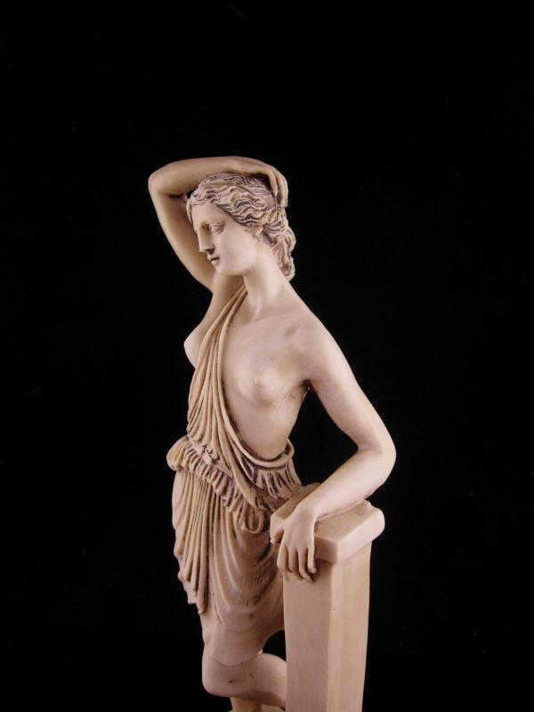 Aphrodite nude figurine/ Vintage Venus statue / 9 1/2