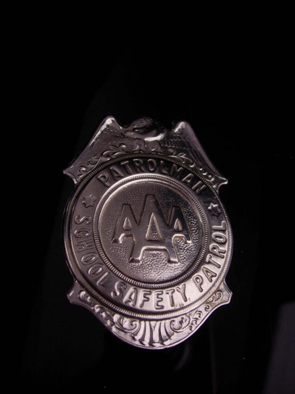 Vintage AAA Badge  - Grammes Allentown - 2 3/4