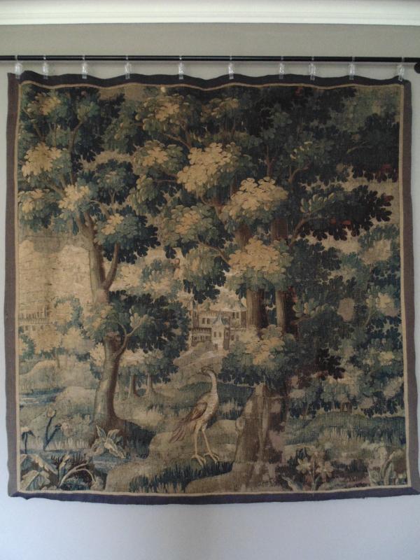 Late 17th Century Aubusson Tapestry Verdure
