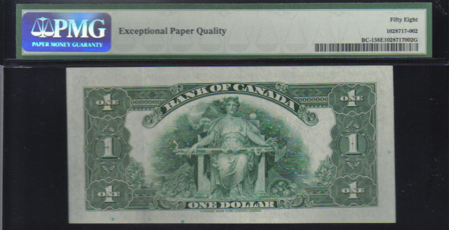 1935  $1   BANK OF CANADA   BC-1    PMG 58 B series