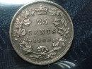 1900 canada 25 cents ICCS   VF 20 QUEEN VICTORIA