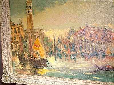 JEAN SIRONI    ITALY : VENICE GRAND CANAL 1930