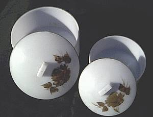 Vanity Item(s)/Pale Blue/Round Plastic Powder/Trinket Boxes
