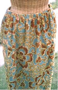 Clothing/Skirt & Palazzo Pants/Handmade/Vintage Fabric