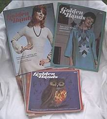 Ephemera/C.1975/11 Golden Hands Weekly Parts/Needlecrafts Encyclopedia