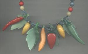 Necklace/Plastic and Wood/Bead &Veggie&Fruit