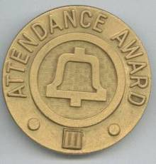 Service Pin/Southwestern Bell Telephone Attendence Award