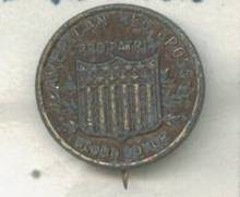 Service Pin/C. 1900 Red Cross Donor