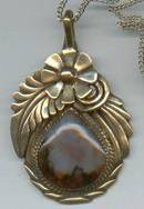 Pendent/Designer/OK Gold/A Hasteen/Navajo Style
