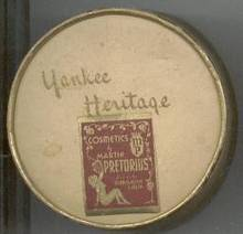 Vanity Item(s)/Yankee Heritage Cardboard Face Powder Box