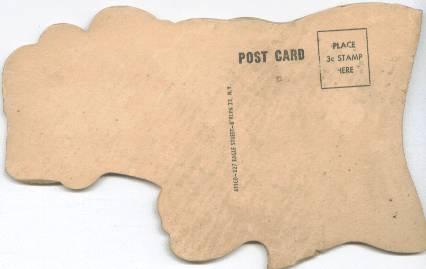 Postcard/Wooden