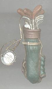Christmas Ornament/Golf Bag
