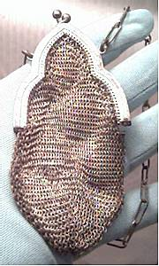 Purse/Childs Victorian Chainmail /Cathedral