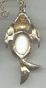 Necklace/Designer/Hattie Carnegie Figural Coi Fish
