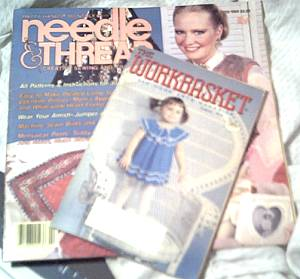 Ephemera/Workbasket Mag/1984 Needle & Thread Mag