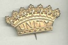 Fraternal/Manchester UNITY Society Pin/FriendlySocieyt/Oddfellows