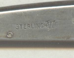 Vanity Item(s)/Webster Co. Sterling Comb Holder/Has Monogram WRM