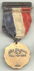 Awards Medal/Political/William Hale Thompson Mayor Committee Ribbon Pin