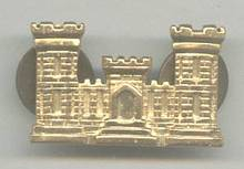 Militaria/Army Corps of Engineers Emblem Pin