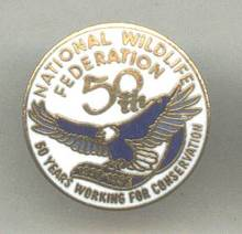 Service Pin(s)/National Wildlife Federation 50th