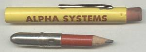 Advertising/Cased Pencil/Alpha Systems