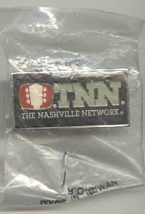 Advertising/TNN Enameled Pin