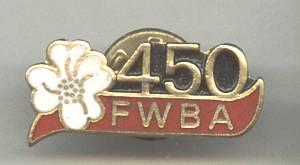 Club/Enameled Tack Pin/FWBA