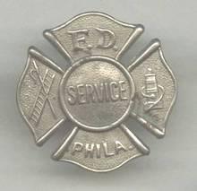 Service Pin(s)/F.D. Servic PHILA.
