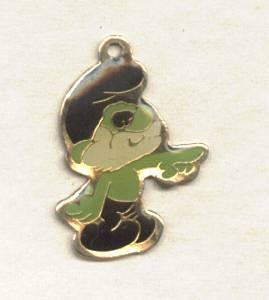 Charm(s)/Papa Smurf/Green Enamel